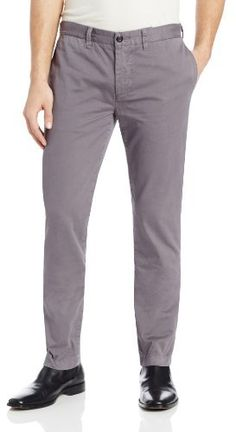 $148, Grey Chinos: Jack Spade Dixon Slim Fit Chino Pant. Sold by Amazon.com. Click for more info: https://lookastic.com/men/shop_items/131353/redirect