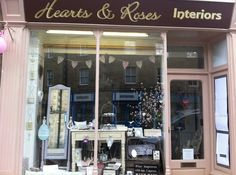 Helens new shop front! — at 7 Matlock Street, Bakewell, Lots of Annie Sloan Painted country furniture Annie Sloan Paints, Country Furniture, Vanity Mirror, Furniture, Interior, Shop Front, New Shop, Home Decor, Mirror