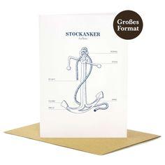 """""""Stockanker"""" - Greeting card"""