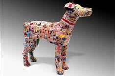 six0six design: Comic dogs