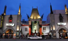 Grauman's Chinese Theatre. Hollywood, CA