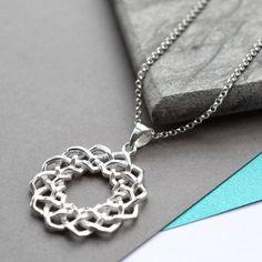 Silver Celtic Love Knot