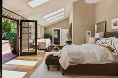 Benjamin Moore Shaker Beige Bedroom | Benjamin Moore 977 Brandon Beige ~ Urrutia Design