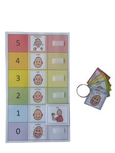 Amazon.com: Autism Supplies And Developments PECS Feelings Board: Office Products