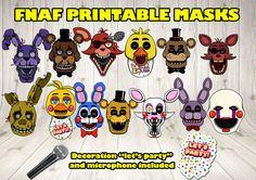 Cinco noches en máscaras de Freddy máscara de por DecorationsLeon