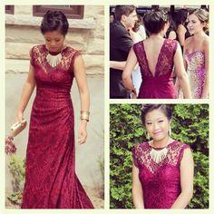 Robe Karyna modifiée Backless, Creations, Formal Dresses, Collection, Fashion, Dress, Moda, Formal Gowns, La Mode