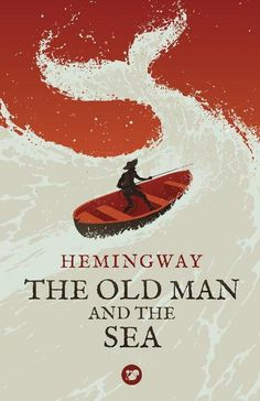 The Old Man and the Sea by Ernest Hemingway // Design & Illustration by Levente Szabo