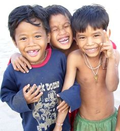 cute kids in Cambodia