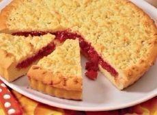 Как приготовить песочный пирог с вареньем - рецепт, ингридиенты и фотографии