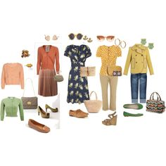 soft autum soft gamine, created by pancakedindin on Polyvore