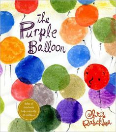 """The Purple Balloon"" is one of our top 10 books for talking with children about loss, death & grief. The others on the list are great too!"
