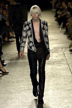 Dior Homme Spring 2007 Menswear by Hedi Slimane