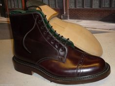 Tricker's - Cordovan Parade Boot