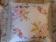 vintage embroidery patchwork
