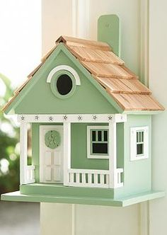 Give your feathered friends a cozy place to nest while adding coastal character to your outdoor space with the quaint Coastal Birdhouse, available with several designs and colors.