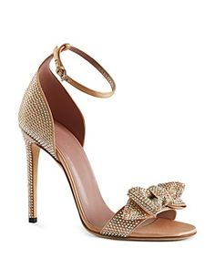 Gucci Evening Sandals - Clodine Bow |    @ gucci