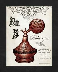 CUADROSTOCK.COM - Cuadro French Perfume 5 / Gwendolyn Babbit