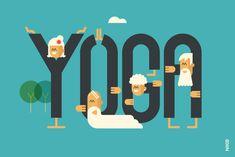 NIKO – Graphic Designer › Le yoga