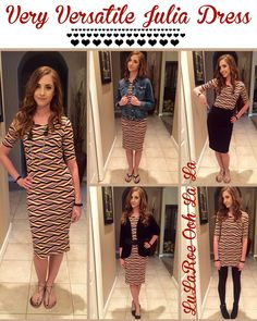 Styling your Julia Dress!  Join my shopping group!  LuLaRoe Erin Woolley -   https://www.facebook.com/groups/1047818405280065/