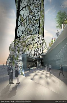 """A closer look into """"Vivo on High Line"""", a joint winner of Living Cities 2014"""