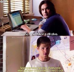 Pretty Little Liars, Caleb and Toby
