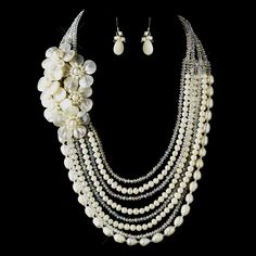 Ivory Pearl Statement jewelry #makeastatement