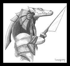 Stargate Sobek Warrior concept