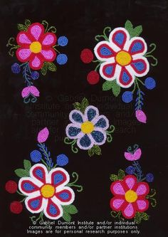 The Métis Virtual Museum of History and Culture - The Virtual Museu . - The Virtual Museum of History and Culture of Métis – The Virtual Museum of History and Culture o - Native Beading Patterns, Beadwork Designs, Bead Embroidery Patterns, Beaded Jewelry Patterns, Beaded Embroidery, Bead Patterns, Indian Beadwork, Native Beadwork, Native American Beadwork