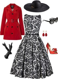 """Very Audrey Hepburn"" by keri-cruz on Polyvore"