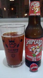 Que tal hoje sabor um pouco mais sobre uma Monkey Fist IPA? Mesmo tendo um rótulo engraçadinho de macaco, aqui o principal é a IPA mesmo, com características fortes e marcantes, pode ser uma ótima ideia pra quem curte ou quer conhecer o estilo. Ficou curioso? Leia mais uma das minhas críticas e aproveite para seguir o Diário Gastronômico do XinGourmet (y)  #Shipyard #Monkey #Fist #IPA #cerveja #bebida #alcoólica #álcool #água #malte #lúpulo #levedura #amargo #Indian #Pale #Ale #EstadosUnidos…