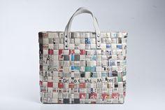 como hacer carteras de papel reciclado - Buscar con Google