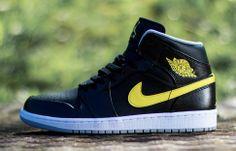 "Air Jordan 1 Mid ""Vibrant Yellow"" - EU Kicks: Sneaker Magazine"