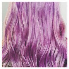 Lavender forever #hairbykileypotter ______________________________________________ #modernsalon #americansalon #behindthechair #hairbesties #hairporn #hair #vegas_nay #hotonbeauty #hrvahairartistry #salonglo #beautylaunchpad #bangstyle #matrix #matrixcolor #cosmoprofbeauty #haircolor #hairbrained #beauty #happyhair #hairstyle #hair #olaplex #authentichairarmy #behindthechair #haircolor #lavenderhair