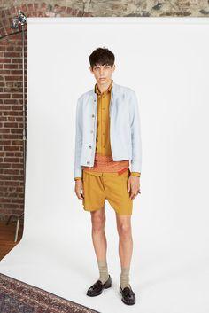 Orley Spring 2014 Menswear Fashion Show Spring 2014, Spring Summer, Summer 2014, Mens Yellow Pants, Fashion Show, Mens Fashion, Fashion Design, Walking Man, Summer Collection