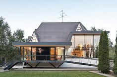 4a Architekten Transforms House N in Moscow with a Refreshing, Modern Facelift | Inhabitat - Sustainable Design Innovation, Eco Architecture, Green Building