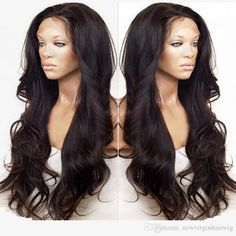 Glueless Full Lace Wig Brazilian Deep Body Wave Full Lace Human Hair Wigs For…