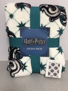Harry Potter Fleece Bed Throw Slytherin Blanket Primark 125×150cm | Collectibles, Fantasy, Mythical & Magic, Harry Potter | eBay!