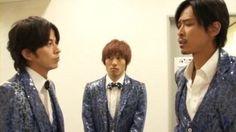 V6 Masayuki Sakamoto, Ken Miyake and Junichi Okada