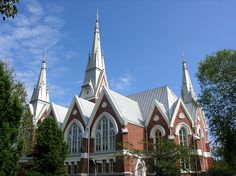 Evangelical-Lutheran church of Joensuu, Finland