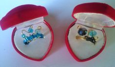 Women's rings with wire , crystal and swarovski beads
