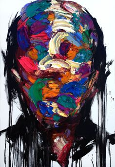 [199] untitled oil on canvas 162.2 x 112.1 cm 2013 by KwangHo Shin, via Behance