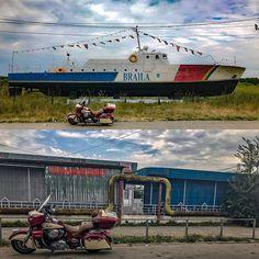 During my trip through eastern Europe. Shots made in Braila & Galati in Romania ! #eastern #europe #europe_vacations #europeantour #galati #galați #braila #romania #touring #mototouring #motorcycletouring #indianmotorcycle #indianmotorcycles #indianmotorcycles #indianroadmaster #boat #ship #instagood #instamoto #instamotogallery #motofoto #followme #follow4follow #like4like