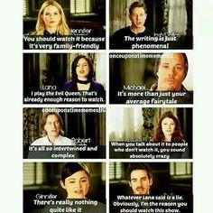 Belles!!! Lol! I love Regina, Belle, and Hook's responses