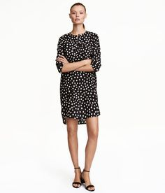 Skjortekjole | Mørkegrøn | Dame | H&M DK