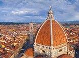 Florence, Italie • 360 ° Panorama aérienne !