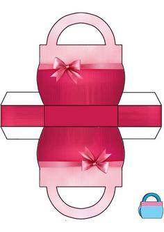 Make gift box yourself ✄ DIY Gift Box. Printable Box, Templates Printable Free, Printables, Diy Gift Box, Diy Box, Gift Boxes, Diy Paper, Paper Crafts, Foam Crafts