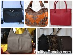 High quality, well-thought-out, beautiful and blingy - Pick your style of concealed carry purses