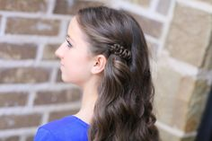 How to create a Sides-Up Slide-Up Hairstyle   Cute Girls Hairstyles