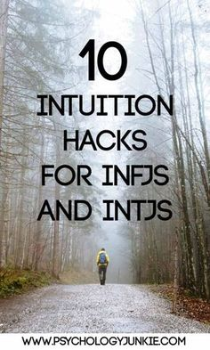 These things all come naturally to me, like instinct; I don't have to try. I developed my intuition young it seems. Wish I could teach others! Intuition hacks for #INTJs and #INFJs! #MBTI