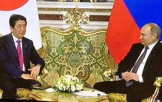 Abe: Relations of Russia and Japan are developing very successfully. Today I would like to discuss a peace Treaty and security in the region